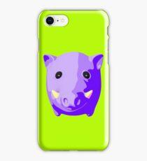 Wild pig iPhone Case/Skin