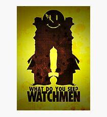Watchmen - Rorschach  Photographic Print