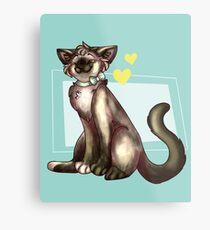 China Cat! Metal Print