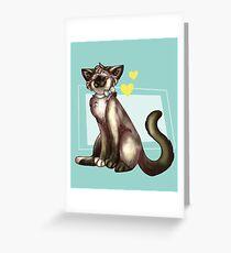 China Cat! Greeting Card