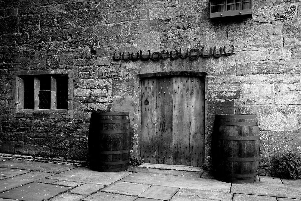 Doors at Snowshill by GCAPARO