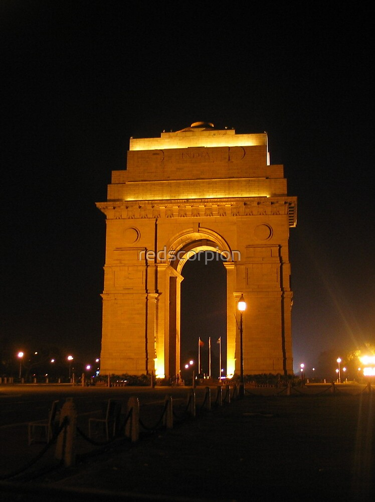 India Gate by redscorpion