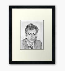 Doctor Who - David Tennant Framed Print