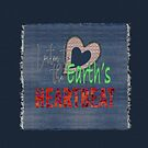 Listen to the Earth's Heartbeat Denim Patch by elee