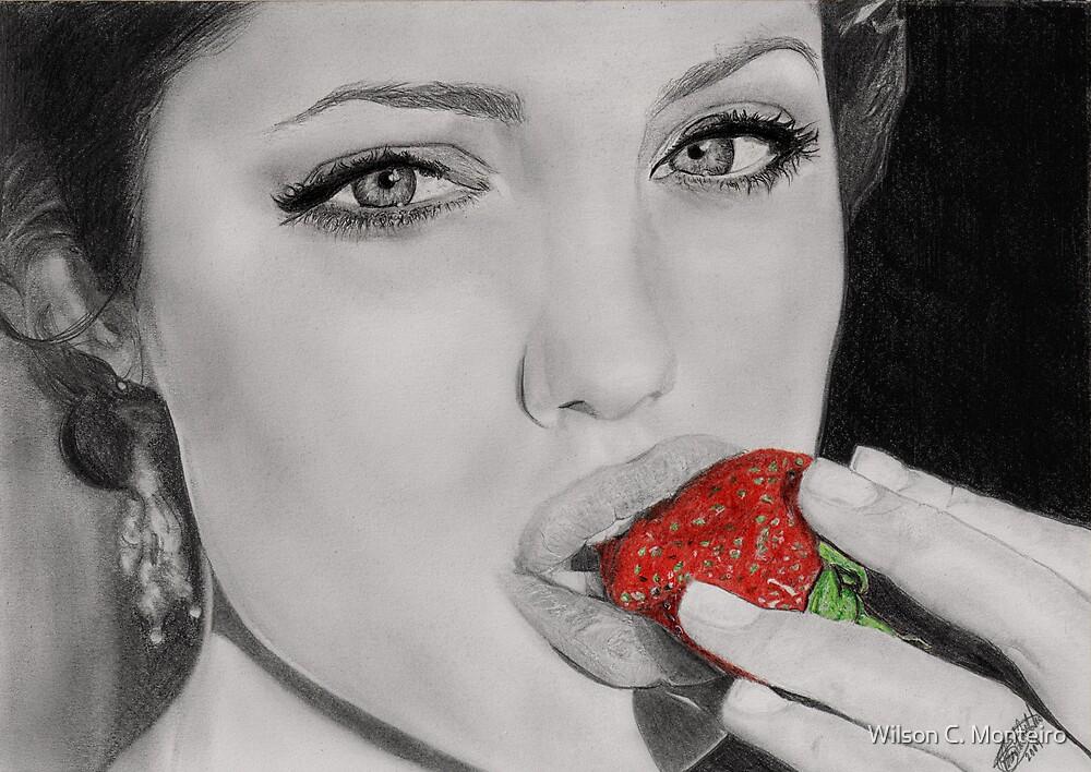 Strawberry Angelina  by Wilson C. Monteiro