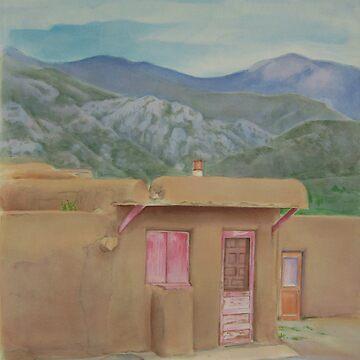 Taos Pueblo  by katkuzma