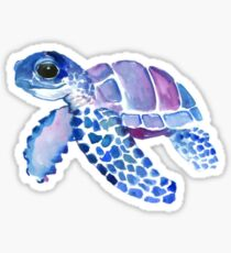 Sea turtle sticker Sticker