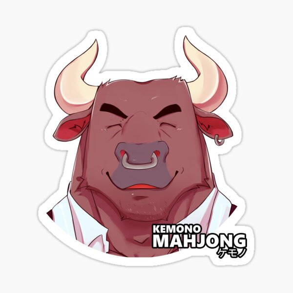 Farley the Bull Sticker