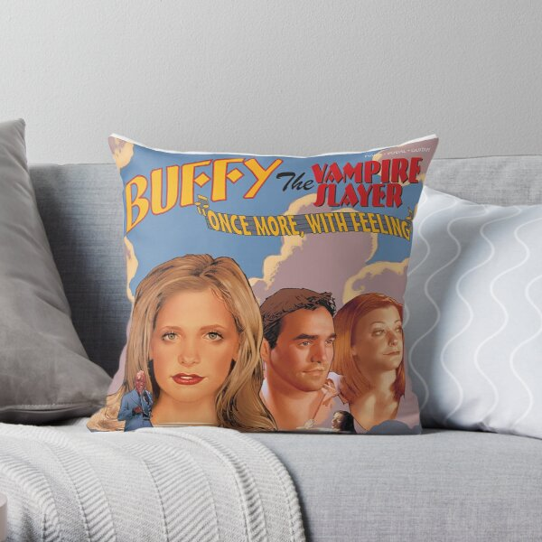 Buffy The Vampire Slayer - Once More With Feeling Throw Pillow