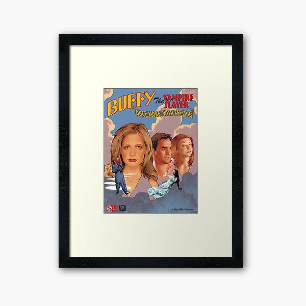 Buffy The Vampire Slayer - Una vez más con sentimiento Lámina enmarcada