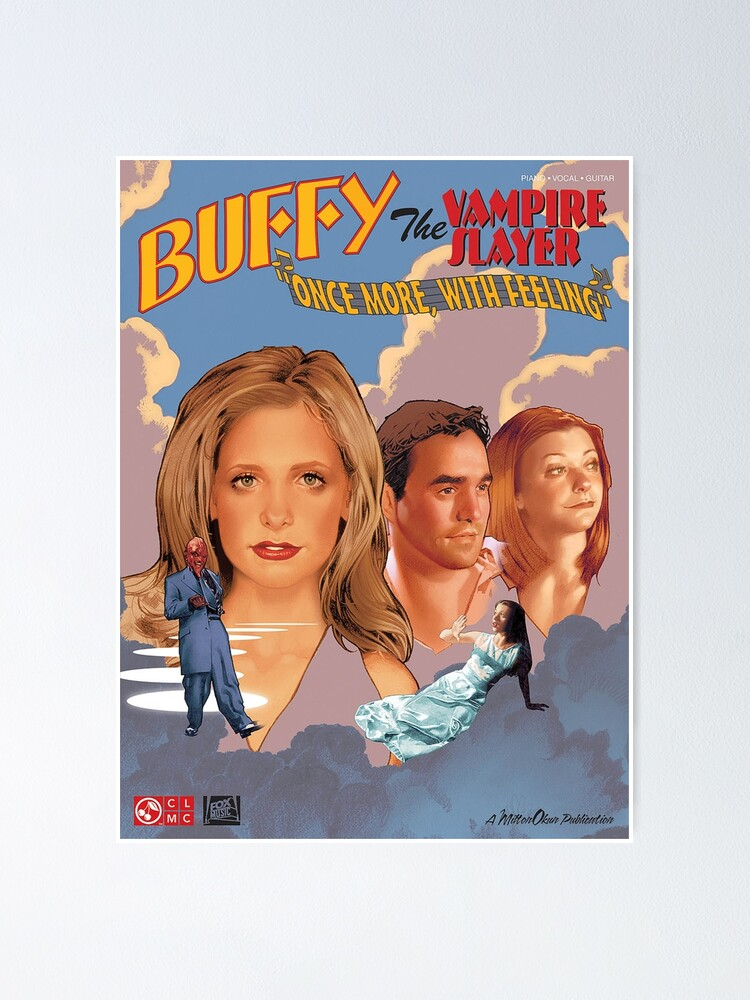 Alternate view of Buffy The Vampire Slayer - Once More With Feeling Poster