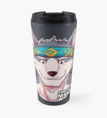 Flint the Wolf Travel Mug