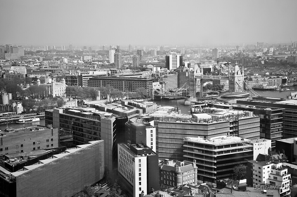 London: Through A Dirty Window by DonDavisUK
