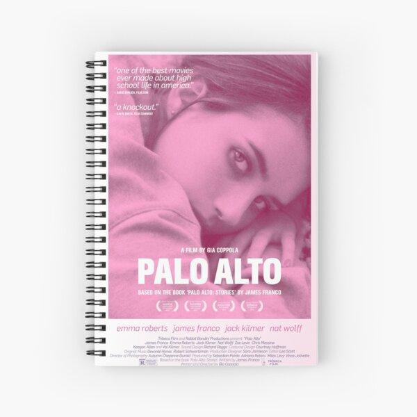 Palo Alto Film Poster Spiral Notebook