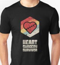 Offenes Herz Chirurgie / Bypass Chirurgie Geschenk Slim Fit T-Shirt