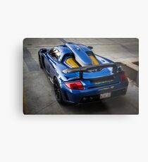 Gemballa Mirage GT From Above Metal Print