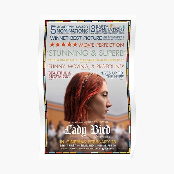 Affiche du film Lady Bird Critics Poster