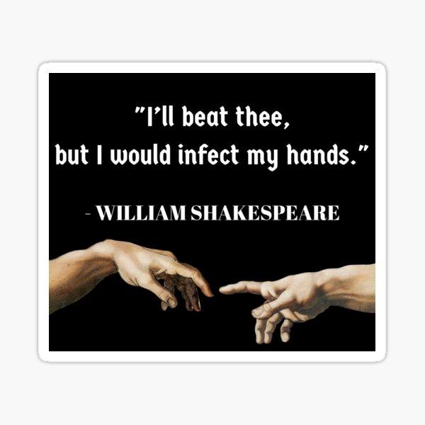 Shakespeare Insult Sticker