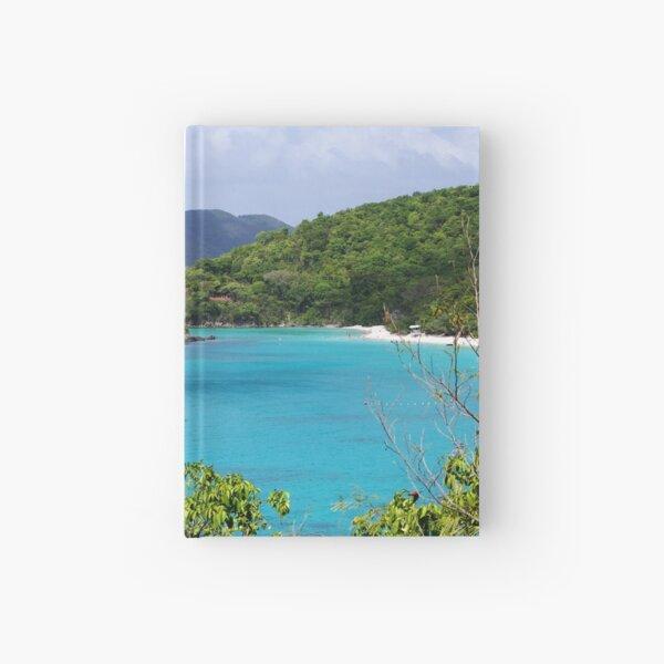 Cinnamon Bay, US Virgin Islands Hardcover Journal