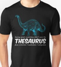 Thesaurus Extinction Unisex T-Shirt