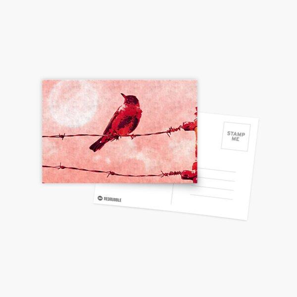 Bird on the Wire Postcard