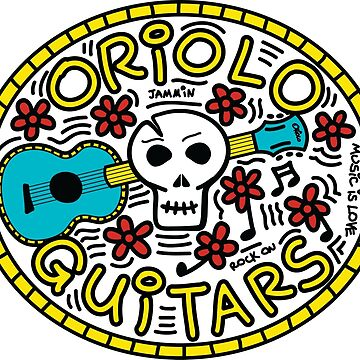 Skull by OrioloGuitars