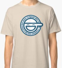 Ghost in The Shell Laughing Classic T-Shirt