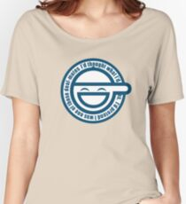 Ghost in The Shell Laughing Women's Relaxed Fit T-Shirt