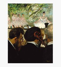 Orchestra musicians at the Ballet Photographic Print