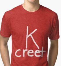 Concrete(white version) Tri-blend T-Shirt