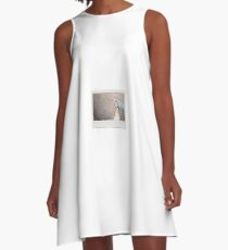 Skateboard - Instant Photography A-Line Dress