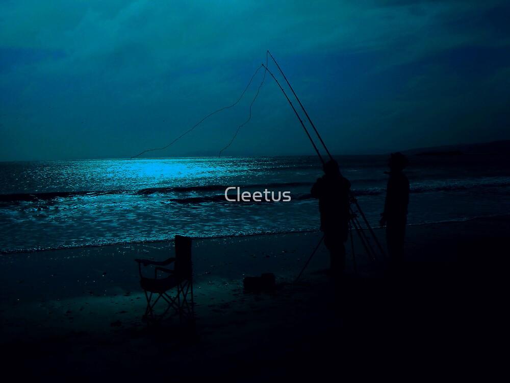 Fishing in Dark by Cleetus