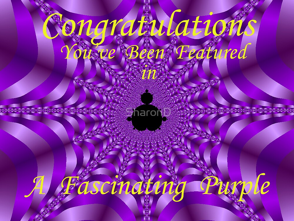 A Fascinating Purple- Banner by SharonD