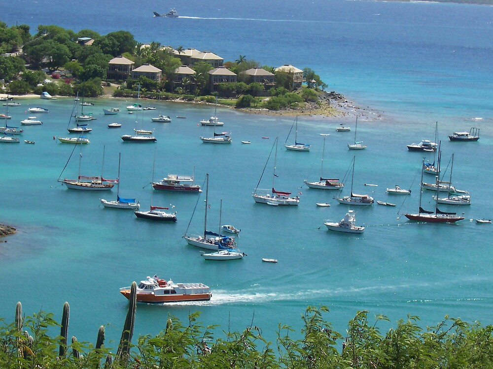 Cruz Bay by doctorharrison