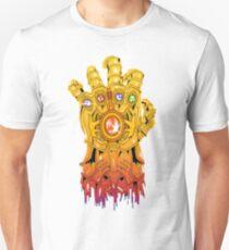 Avengers - Thanos Gauntlet Slim Fit T-Shirt