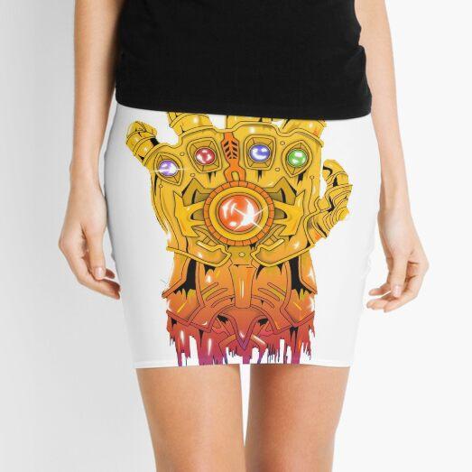 Avengers - Thanos Gauntlet Mini Skirt