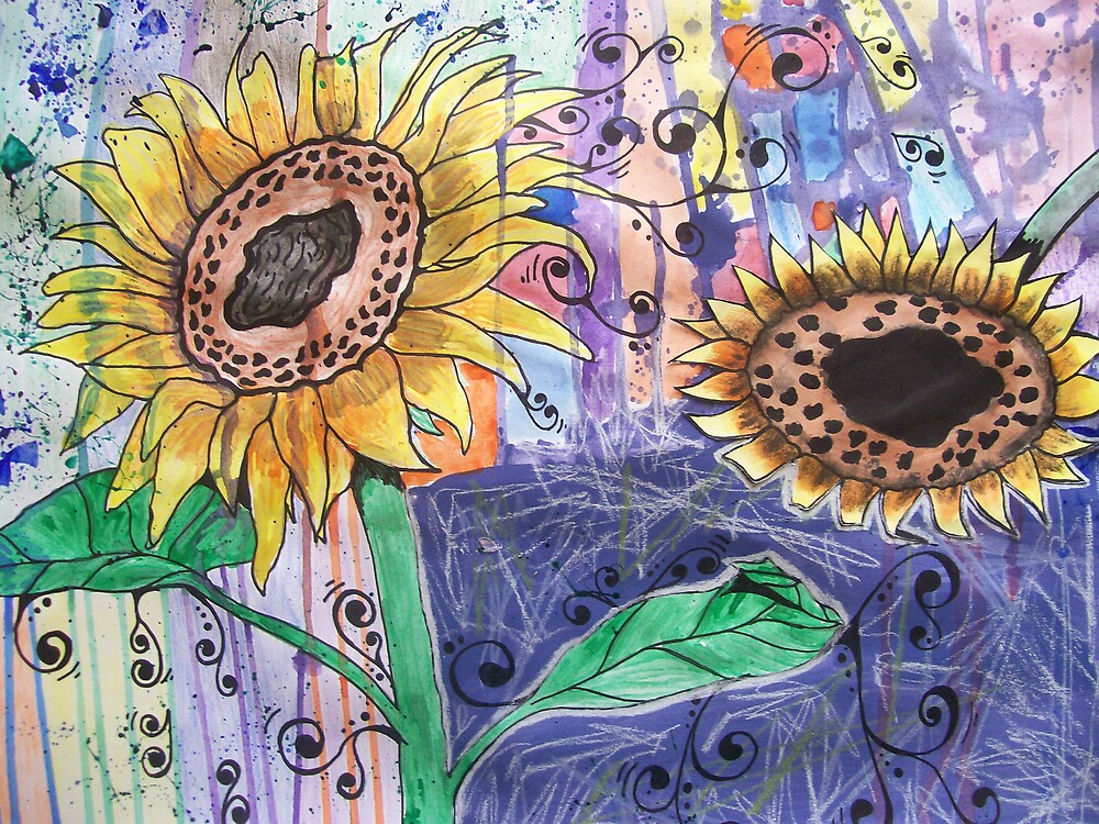 Sunflowers. by meggymay