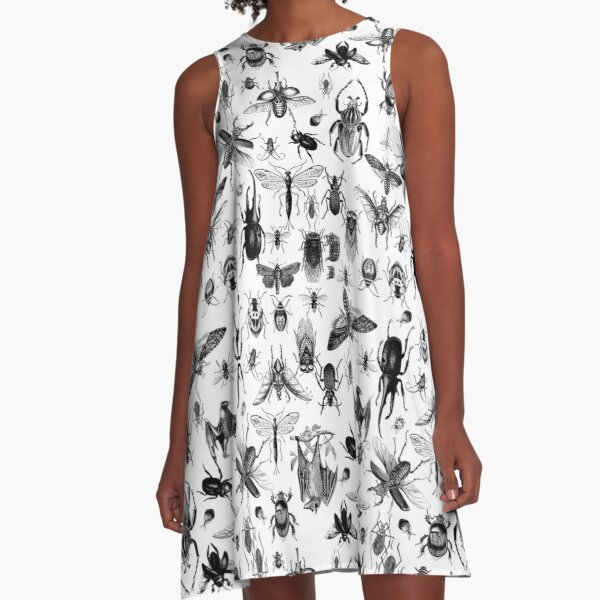 We like insects! A-Line Dress