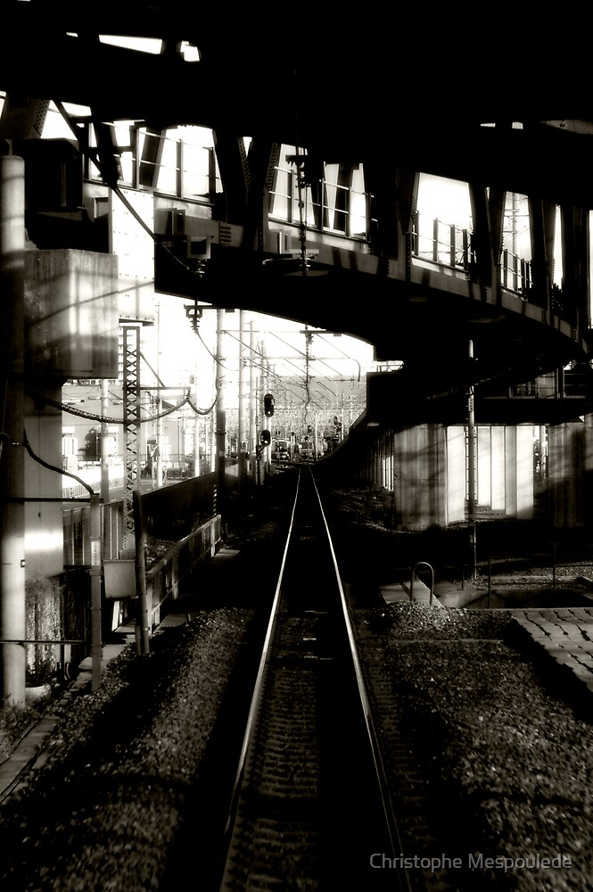 Perspective ferroviaire + courbes by Christophe Mespoulede