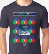 """Sheldon Wears Screens and Lenses Work Magic.""© T-Shirt"