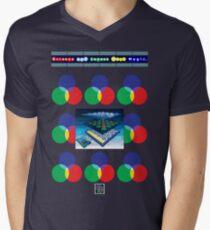 """""""Sheldon Wears Screens and Lenses Work Magic.""""© Men's V-Neck T-Shirt"""
