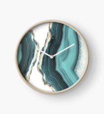 Sea Agate Clock