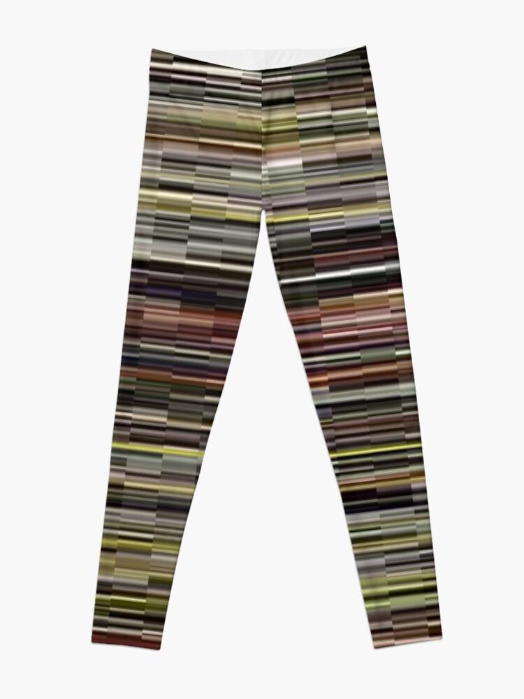 Alternate view of Pattern, design, tracery, weave, Stylish, fancy, hip, modish Leggings