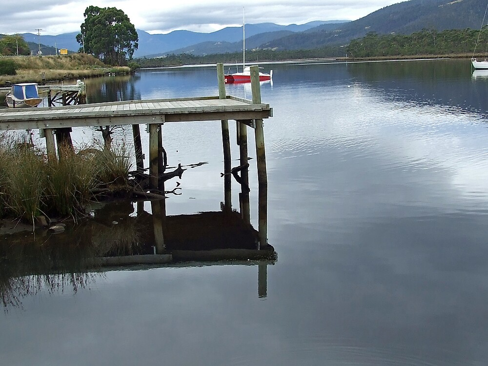 Reflections on The Huon by GilliB