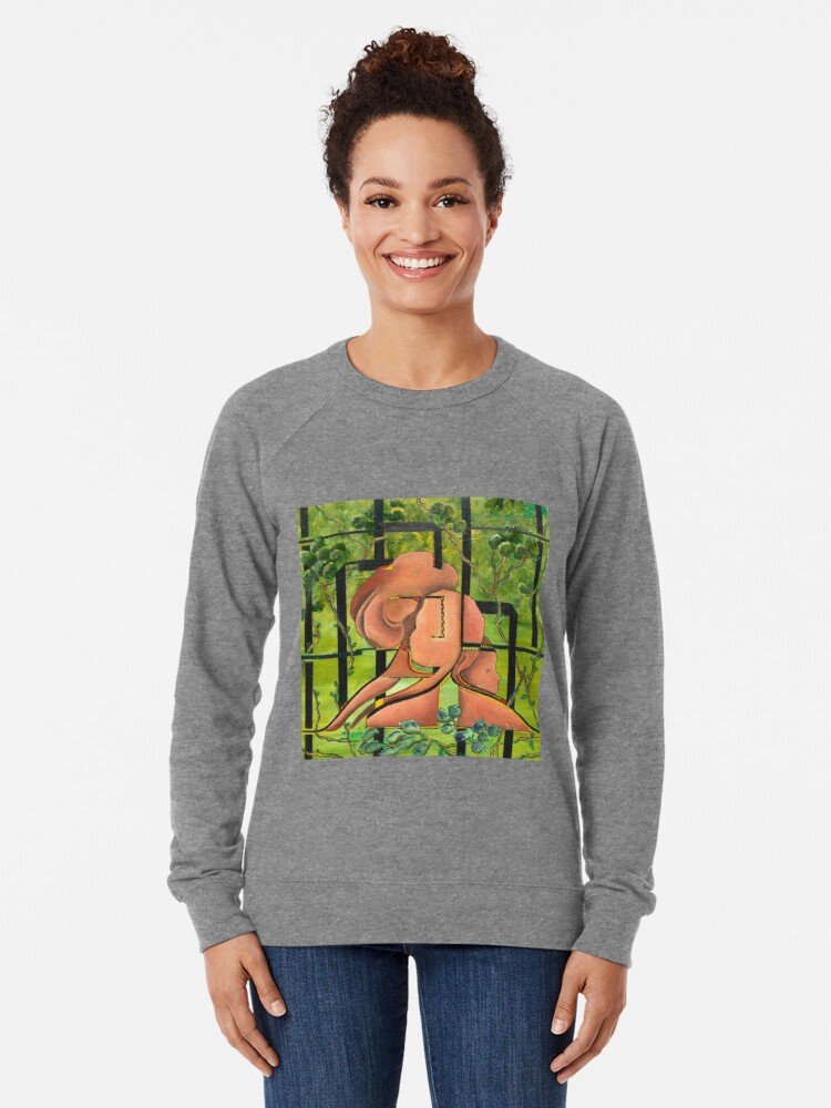 Alternate view of Enchanted Forest Lightweight Sweatshirt