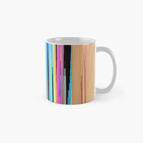 Pattern, design, tracery, weave, drawing, figure, picture, illustration Classic Mug
