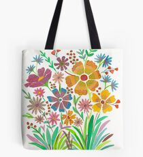 Floral Bright Tote Bag