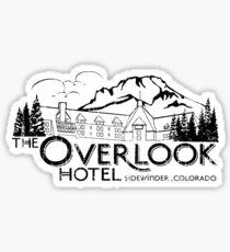colorado the overlook hote side winder Sticker