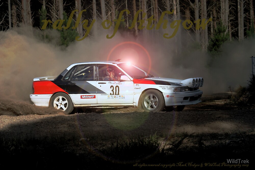 Rally of Lithgow - Galant VR4 by Mark  Hodges