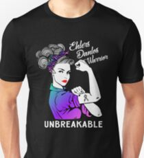 Ehlers Danlos Syndrome Warrior Unbreakable - Awareness Shirt Unisex T-Shirt